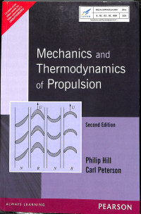 Image of Mechanics and Thermodynamics of Propulsion